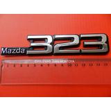 Emblemas Mazda 323