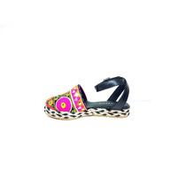 Natacha Zapato Mujer Alpargata Tela Hindú #1442