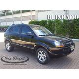 Hyundai Tucson 2.0 Gls Blindado 2014 Pneus Novos 2ª Dona