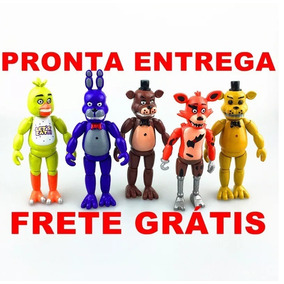 Kit 5 Bonecos Five Nights At Freddy