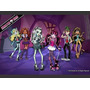 Painel Decorativo Festa Disney Monster High [3x1,7m] (mod3)