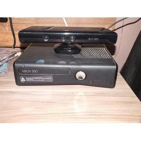 X-box 360 + Kinect + 5 Jogos + Bolsa