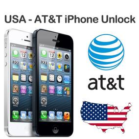 Liberacion Por Imei Iphone 5, 5s, 5c, 6, 7, 8, X, At&t Usa