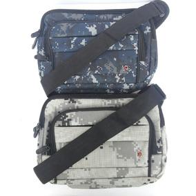 Bolso Bandolero Cruzado Estilo Militar Camuflado