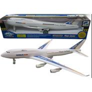 Avion Airbus A380 A Cuerda Friccion 40cm Tv Nvo 3898 Bigshop
