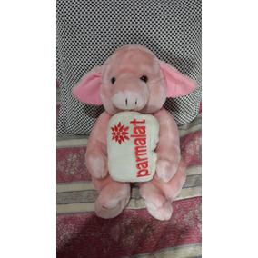 Bicho Pelúcia Parmalat Porco Antigo Colecionador
