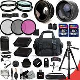 Ultimate Kit De Accesorios De 32 Piezas Para Nikon D5500 D5