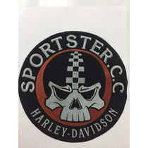Parche Harley Davidson Sportster Espaldero 883 1200 Cc