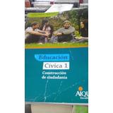 Educación Cívica 1 Schujman Editorial Aique