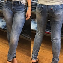 Calça Jeans Skinny Com Bojo Revanche