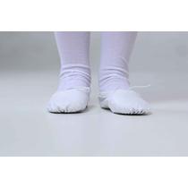 Sapatilha Ballet Infantil Branca