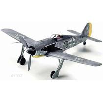 Tamiya Avion Focke Wulf Fw190 A3 1/48 Armar Pintar/ Revell