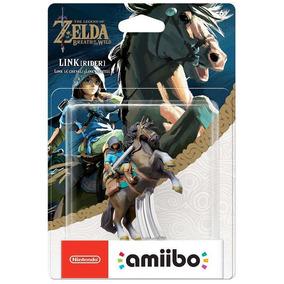 Amiibo Link Rider Cavaleiro Zelda Breath Of The Wild Switch