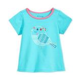Camiseta First Impressions Niña 3-6 Y 6-9 Meses Con Bordados
