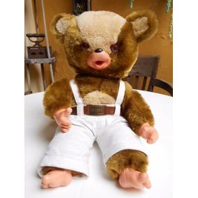 Mini Boneco Urso Peposo Brinquedo Antigo Vir Lionel