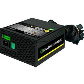 Fonte Atx 600w 80 Plus Bronze Semi Modular Gm600 Gamemax