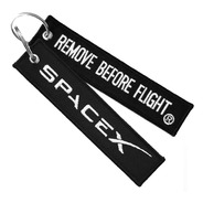 Llavero Spacex Remove Before Flight®