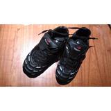Zapatos Calzado Championes Topper Futbol Tapones Negro Usado