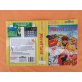 Encarte Marvel Land Original - Sega Genesis - 1989