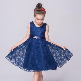 Delicado Vestido Nena 8-12 Años Elegante Bodas Cortejo Gala