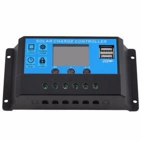 Controlador Solar 12/24 Volts 30a Lcd Con Doble Puerto Usb