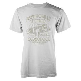 Remera Car Psychobilly Hotrod Old School Costumbre Cultura