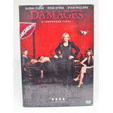 Dvd Série Damages 5a Temp. 3 Discos Glenn Close - Lacrado