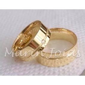 Alianças De Ouro 18k 5,5mm 7 Gramas Promoção Casamento