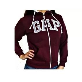 Blusa Gap Feminina Bolso+ziper+ Capuz O Frio Chegou
