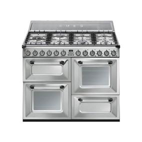 Cocina Smeg Mixta 110 Cm Tr4110x Italiana