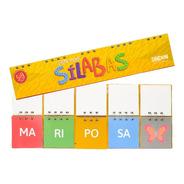 Libro Móvil De 4 Sílabas Montessori - Material Didáctico