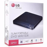 Gravador Dvd Externo Lg Ultra Slim Pc Notebook Gp50 Só Usb