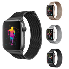 Pulseira Apple Watch Milanese Series 4 44mm 40mm Aço Inox