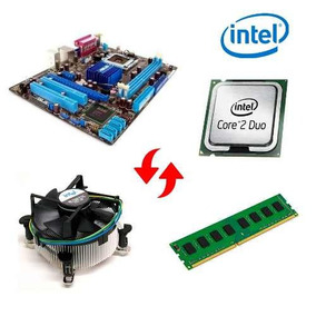 Kit Mb 775 Ddr3 4gb 1333mhz Core 2 Duo Completo Curitiba