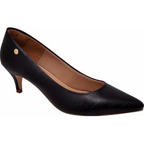 Sapato Scarpin Feminino Salto 4,5cm Bico Fino Festa Ref.9912