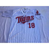 Camiseta Mlb (p.anthony) Usa,minnesota Twins #18 Talle 18/20