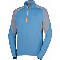 Buzo Running Deportivo Columbia Freeze Degree Hombre Absorbe