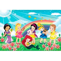 Painel Banner Decoração Festa Infantil Princesa Baby Disney