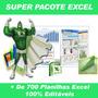 Planilhas Excel Prontas 100% Editáveis
