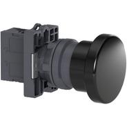 Botao 22mm Plastico Soco A Impulsao D60mm 1na Preto; Xa2er21