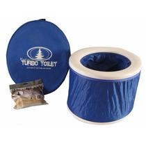 Baño Portatil Sanitario Camping Acampar Inodoro Control Olor