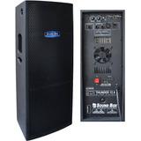 Caixa Som Ativa 600 Watts Rms 12 Dupla Sound Box Thunder 12d