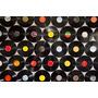 Kit Com 100 Discos De Vinil Para Artesanato E Decoração