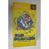 Super Mario World (versión Japonesa) Import Super Famicom