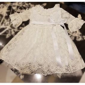 Vestido Nena Envio Gratis Encaje Blanco Fiesta Bombona Chic