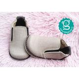 Zapatos Para Niño Bebé No Tuerce - Beige Babycute Zapaticos
