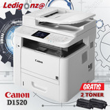 Copiadora Impresora Laser Canon D1520-gratis 3 Toner