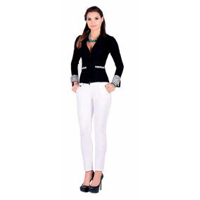 Pantalón Outfit Dril Licrado 1014 Blanco