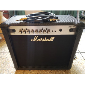 Amplificador Guitarra Marshall Mg30cfx 30 Watt Cable Monster
