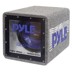 Pyle Caja Bandpass Plqb12 Alfombrada Woofer 12 Pulg 600 W